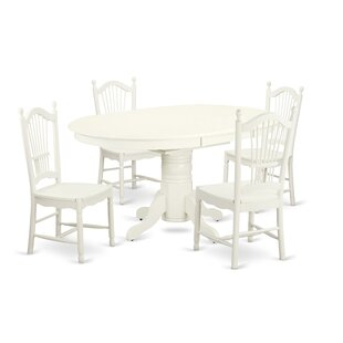 Emmaline 5 Piece Dining Set