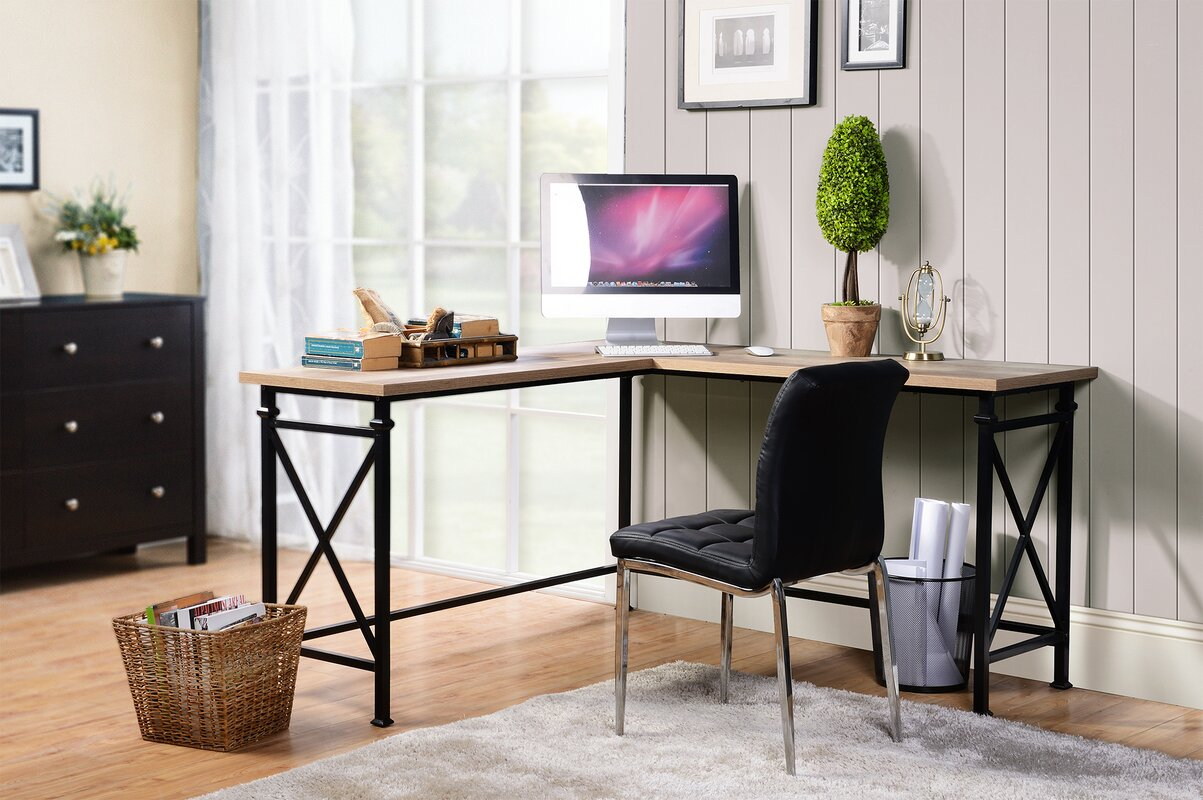 Banquo Corner Desk. Homestar Banquo Corner Desk   Reviews   Wayfair