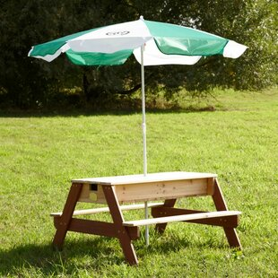 Wooden Picnic Bench By Freeport Park