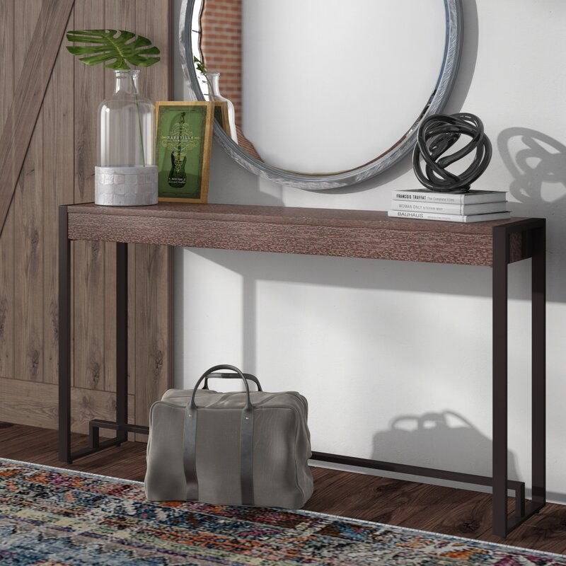 trent austin design rena console table & reviews | wayfair
