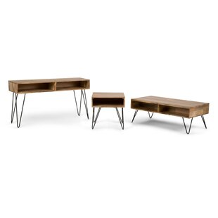 Claudia 3 Piece Coffee Table Set