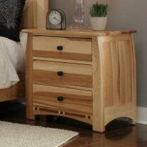Asdsit 3 Drawer Nightstand by Loon Peak