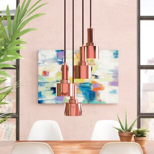 Dunkelberger 4-Light Cluster Pendant by Wrought Studio