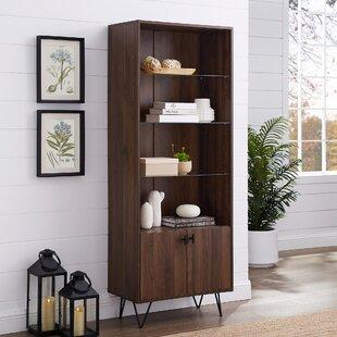 Cavender Modern Storage Standard Bookcase (Set of 2)