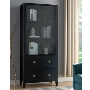 Pagoda Book with 4 Drawers Standard Bookcase by DarHome Co