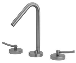 Whitehaus Collection Metrohaus Widespread Bathroom Faucet with Drain Assembly