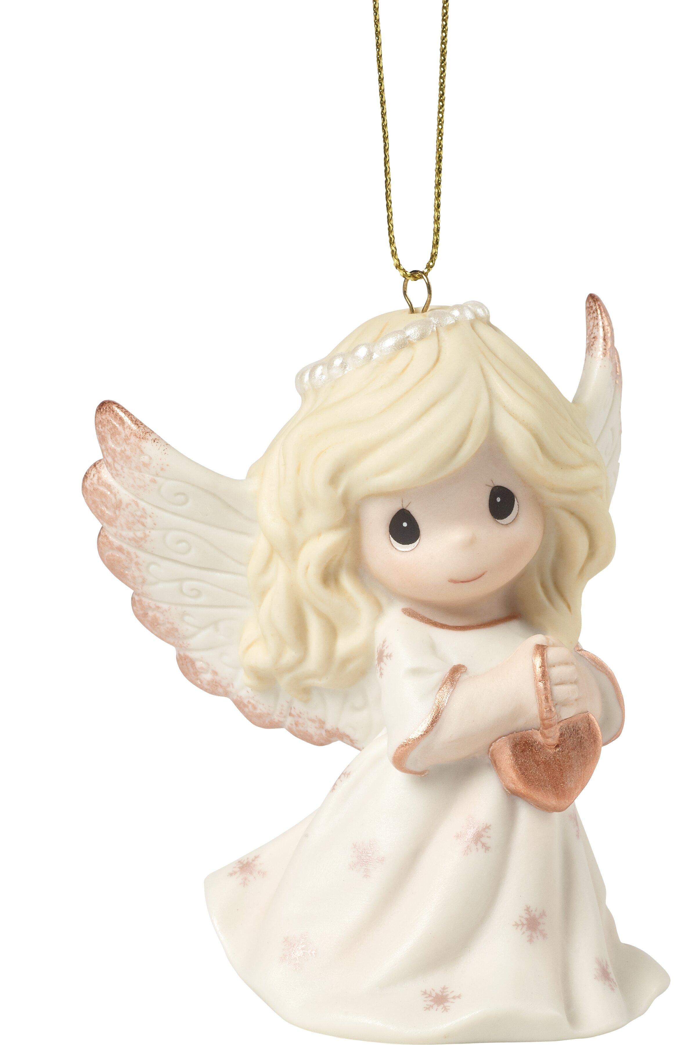 "Lot of 2 Angel Children Kids Wings Shapes 4/"" Rusty Metal Vintage Ornament Craft"