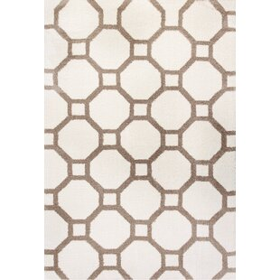 Compare prices Lowes White/Beige Area Rug ByWinston Porter