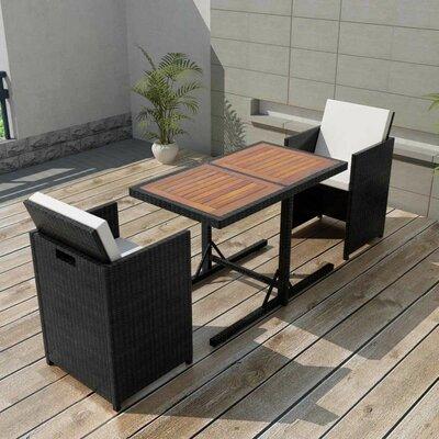 2-Sitzer Balkonset Duffy mit Polster   Garten > Balkon   Garten Living