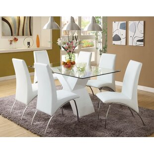 Faust 7 Piece Dining Set Orren Ellis
