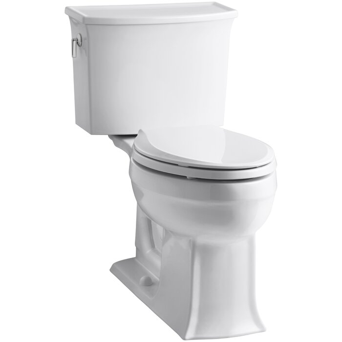 Amazing Archer 2 Piece Elongated Toilet With Aquapiston Flush Technology Creativecarmelina Interior Chair Design Creativecarmelinacom