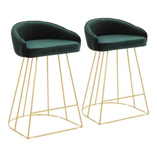 Cortez 25.5 Bar Stool (Set of 2) by Modern Rustic Interiors