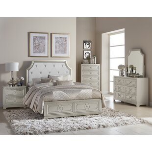 Eldridge Queen Panel Configurable Bedroom Set by House of Hampton Great Reviews