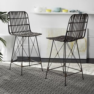 Top Reviews Marleigh Counter Height 23.62 Bar Stool (Set of 2) by Mistana Reviews (2019) & Buyer's Guide