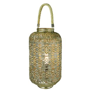 Savings Karli 1-Light LED Hanging Lantern By Mistana