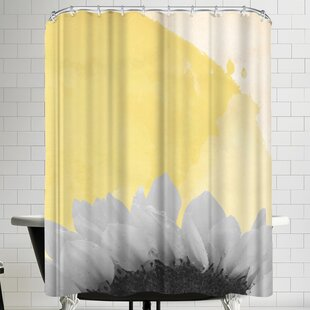 Ikonolexi Sunflower Shower Curtain