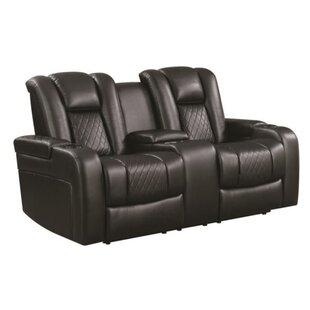 Shop Lorenco Padded Reclining Loveseat by Red Barrel Studio