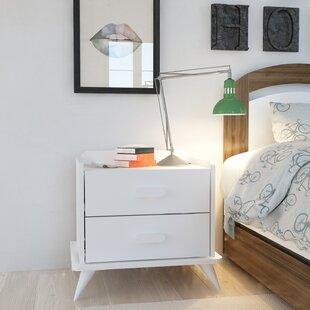 Damarion 2 Drawer Bedside Table By Isabelline