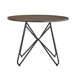 Charleigh Iron Legs Dining Table by Gracie Oaks Find
