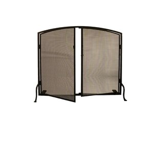 Prime Single Panel Fireplace Screen by Meyda Tiffany