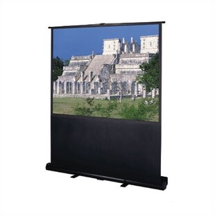 Deluxe Insta-Theater Matte White Portable Projection Screen Da-Lite