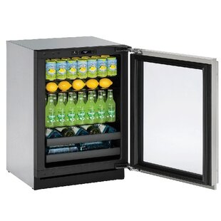 3000 Series Reversible Stainless Steel 24-inch 4.9 cu. ft. Undercounter Beverage Center