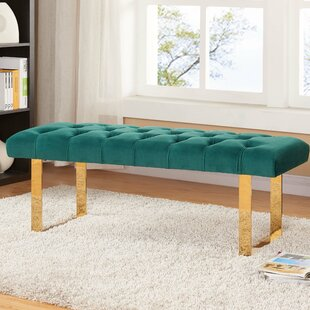 Briarwood Upholstered Bench by Everly Quinn