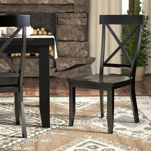 Standridge Solid Wood Dining Chair (Set of 2) August Grove
