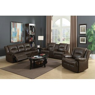 Red Barrel Studio Lechez Reclining Motion 3 Piece Living Room Set