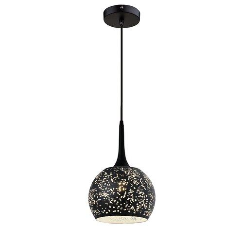 Kugel-Pendelleuchte 1-flammig Laddonia ModernMoments Farbe: Schwarz   Lampen > Deckenleuchten > Pendelleuchten   ModernMoments