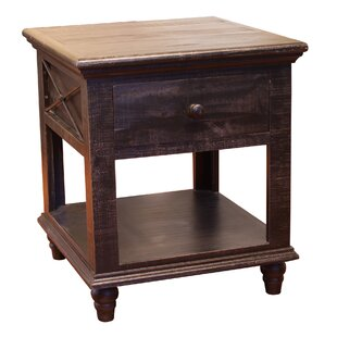 Strausbaugh 1 Drawer End Table
