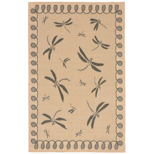Clatterbuck Brown Indoor/Outdoor Area Rug