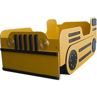 Bulldozer Toddler Car Bed