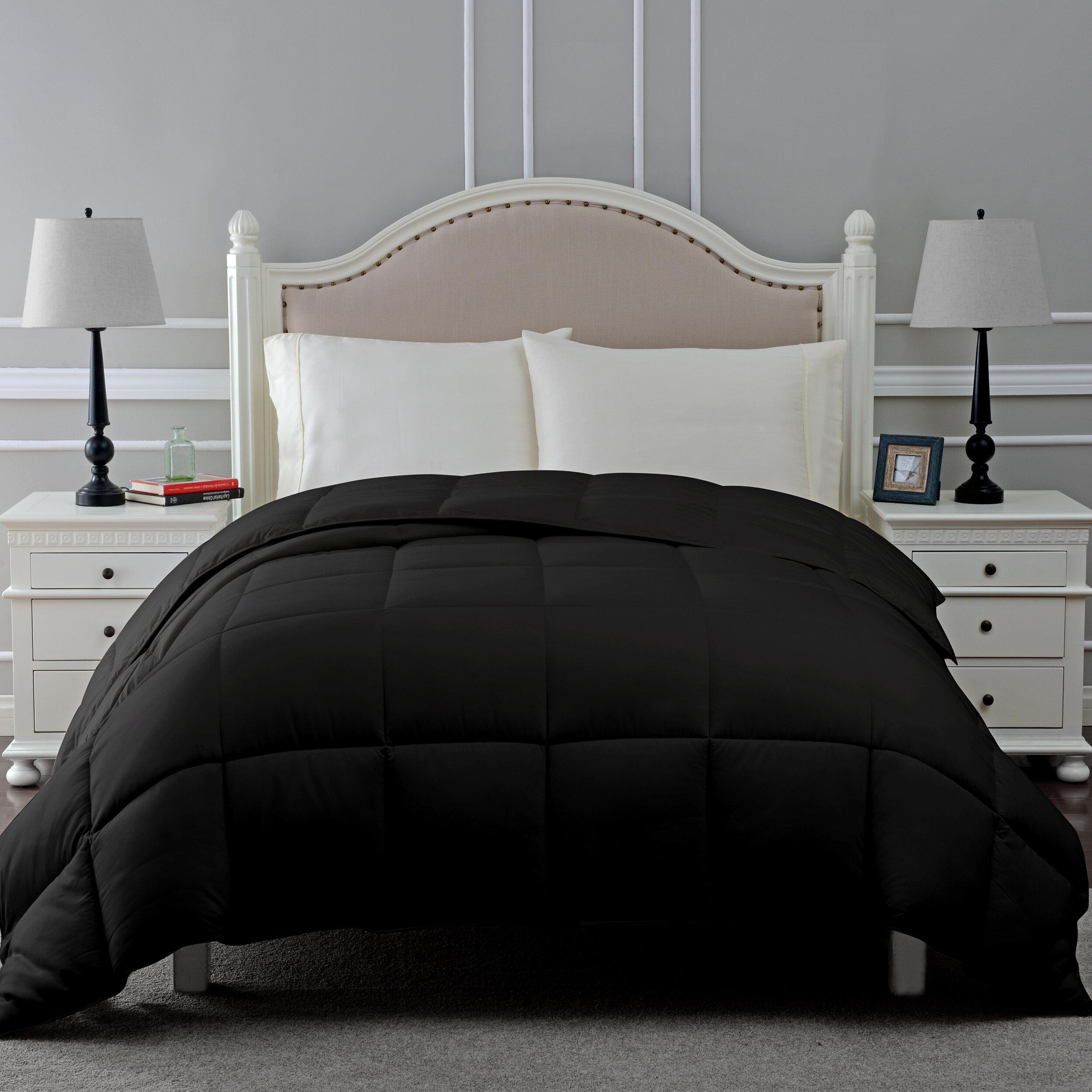 Black Down Comforters Duvet Inserts You Ll Love In 2021 Wayfair