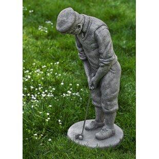 Clic Golfer Statue