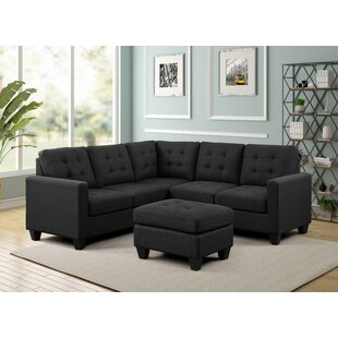 Ebern Designs Gregson Sectional with Otto..