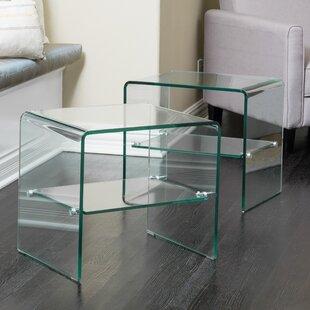 Lightle End Table ByMercury Row