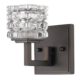 Affordable Keffer 1-Light Bath Sconce By House of Hampton