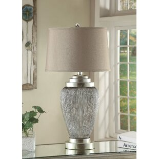 Buy clear Chaucer 34.5 Table Lamp By Red Barrel Studio