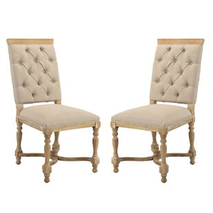 Amberwood Upholstered Dining Chair (Set of 2) by Ophelia & Co.