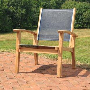 Highland Dunes Gajcak Teak Patio Chair