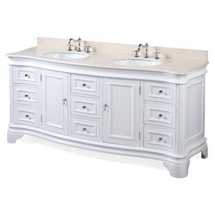Katherine 72 Double Bathroom Vanity Set