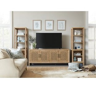 Wabi Sabi Entertainment Center for TVs up to 74