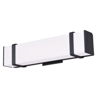 Noah 1-Light Bath Bar By Vaxcel Wall Lights
