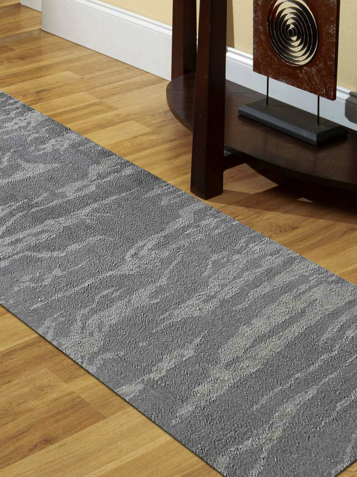 Get My Rugs Runner Abstract Hand Knotted Gray Area Rug Wayfair