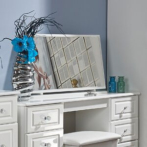 Aquamarine Rectangular Dresser Mirror