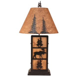 Ingrid Moose and Tree 32 Table Lamp