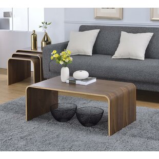 Dreshertown Bentwood Coffee Table George Oliver