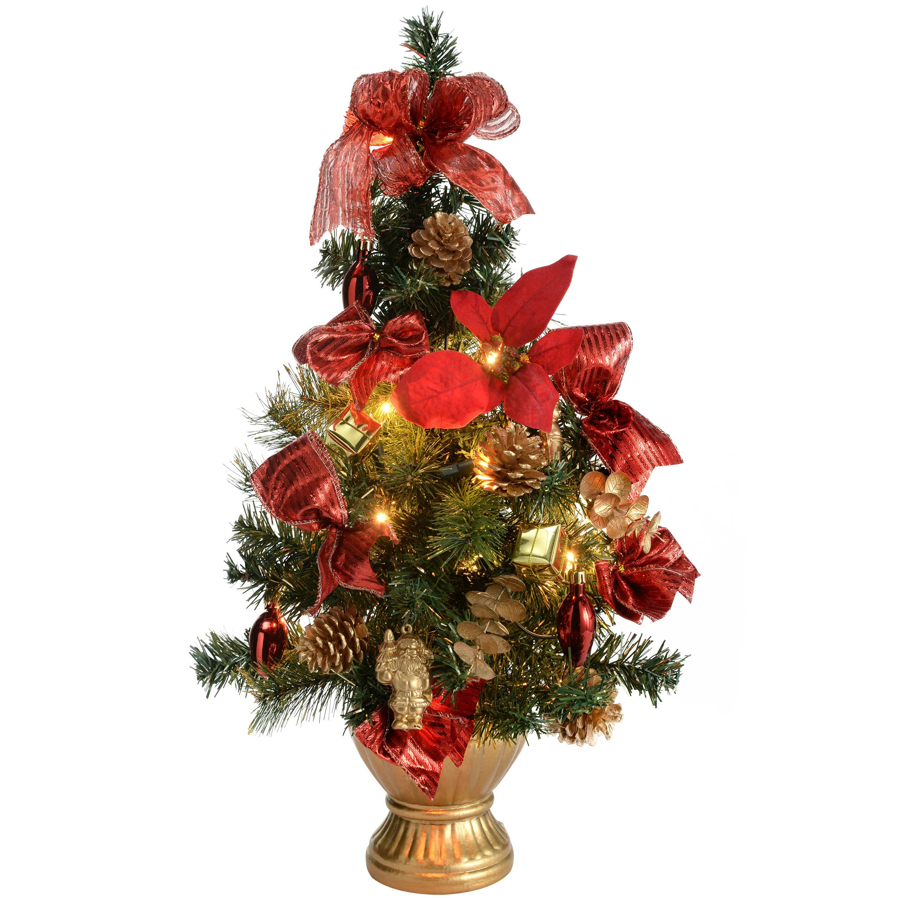 cheap for discount 44396 1f437 Pre-Lit 2ft Green Pine Artificial Christmas Tree