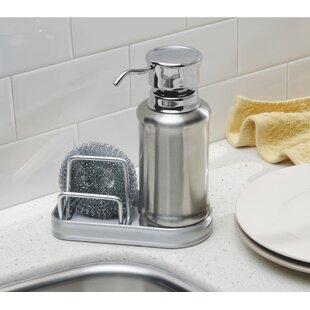 Genial Duff Soap Dispenser And Sponge Caddy